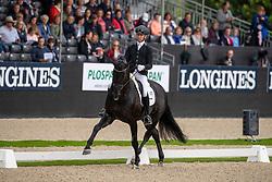 Veeze Bart, NED, Imposantos<br /> World Championship Young Dressage Horses - Ermelo 2019<br /> © Hippo Foto - Dirk Caremans<br /> Veeze Bart, NED, Imposantos