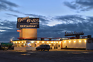 American Nightscapes /  Truck Diner<br /> Diner in denver, Colorado, USA ,2014