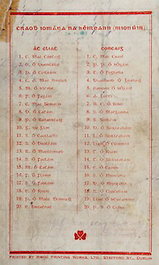 All Ireland Senior Hurling Championship Final,.Brochures,.04.09.1938, 09.04.1938, 4th September 1938, .Dublin 2-5, Waterford 1-6,.Minor Dublin v Cork,.Senior Dublin v Waterford,.Croke Park, ..Dublin Minor Team, C. Mac Cartaig, E. O Donncada, P. O Coileam, C. A. Mac Niocoil, M. O hIcroe, F. O Fagain, C. Mac Semicin, D. O Catain, P. O Rabaertaig, G. De Glin, S. O Caollaroe, S. O Brolcain, R. O Maolcomad, S. O Faolain, M. O Catain, F. O Floinn, S. O Faolain, E. O Riain, P. O Maol Domnaig, E. Breatnac, ..Cork Minor Team, C. Mac Crait, P. P. O hOgain, T. O Rogluda, Diarmurd O Luanaig, Eamonn O hOgain, A. Lotti, N. C. O Rinn, S. O Matgamna, S. Sardeir, D. O Suilleabain, I. O Suilleabain, Liam O Cuimmin, T. O Riam, T. O Suilleabain, C. O Caoim, S. O Muncada, D. O Muncada, N. O Concubair, Liam O hEacairinn, P. S. O Cuinn,