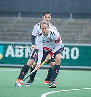 AMSTELVEEN - Billy Bakker (Adam)  tijdens de hoofdklasse competitiewedstrijd mannen, Amsterdam-HCKC (1-0).  COPYRIGHT KOEN SUYK