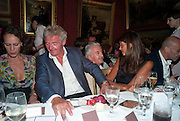 ANDREA DELLAL; COUNT Leopold von Bismarck; PATRICK KINMOUTH; DEBBIE VON BISMARCK; GUY DELLAL, , Dinner hosted by Elizabeth Saltzman for Mario Testino and Kate Moss. Mark's Club. London. 5 June 2010. -DO NOT ARCHIVE-© Copyright Photograph by Dafydd Jones. 248 Clapham Rd. London SW9 0PZ. Tel 0207 820 0771. www.dafjones.com.