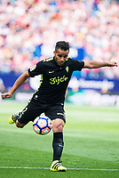 Sporting de Gijon's Douglas during a match of La Liga Santander at Vicente Calderon Stadium in Madrid. September 17, Spain. 2016. (ALTERPHOTOS/BorjaB.Hojas)