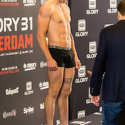NLD/Amsterdam20160624 - Glory 31 / Weigh in, Hevin van Heeckeren
