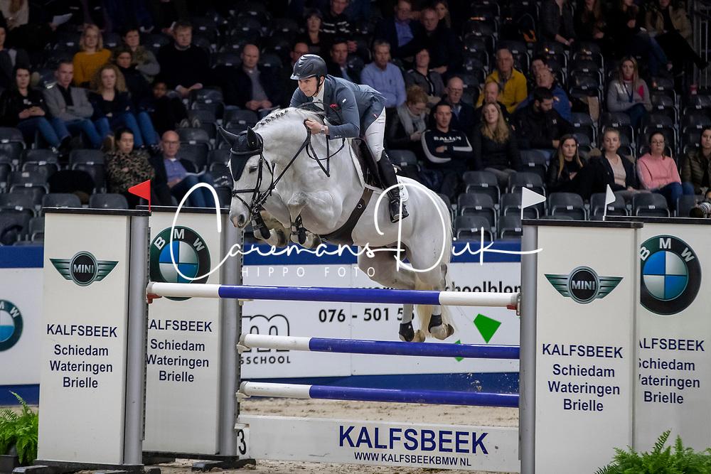 Billington James, GBR, Cohinoor VDL<br /> KWPN hengstenkeuring - 's Hertogenbosch 2020<br /> © Hippo Foto - Dirk Caremans<br />  30/01/2020