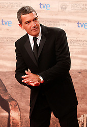 24.09.2011, Sebastian Donostia, ESP, 59. San Sebsatian Filmfestival, Zinemaldia, im Bild Spanish actor Antonio Banderas during the 59th San Sebastian Donostia International Film Festival - Zinemaldia.September 24,2011.EXPA Pictures © 2011, PhotoCredit: EXPA/ Alterphoto/ Acero +++++ ATTENTION - OUT OF SPAIN/(ESP) +++++