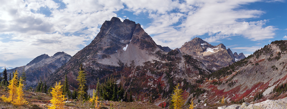 Corteo Peak Panorama - Okanogan National Forest