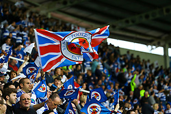 Reading fans fly their flags - Mandatory by-line: Jason Brown/JMP - 16/05/2017 - FOOTBALL - Madejski Stadium - Reading, England - Reading v Fulham - Sky Bet Championship Play-off Semi-Final 2nd Leg