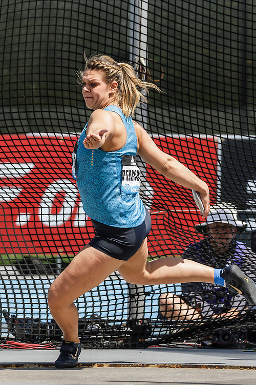 adidas Grand Prix Diamond League Track & Field: womens discus, Sandra Perkovic, Croatia