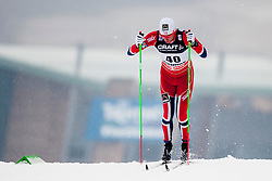 Chris Jespersen of Norway during mens 10km Classic individual start of the Tour de Ski 2014 of the FIS cross country World cup on January 4th, 2014 in Cross Country Centre Lago di Tesero, Val di Fiemme, Italy. (Photo by Urban Urbanc / Sportida)