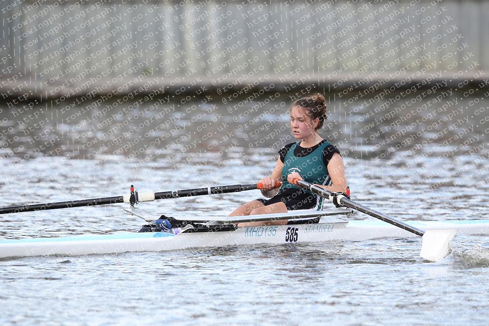 2012.09.29 Wallingford Long Distance Sculls 2012. Division 3. W.J16A 1x. Maidenhead Rowing Club.
