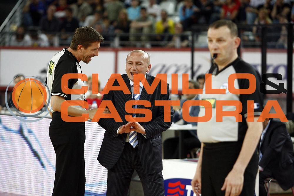 DESCRIZIONE : Roma Lega A 2008-09 Lottomatica Virtus Roma NGC Cantu<br /> GIOCATORE : Davide Ramilli Luca Dalmonte<br /> SQUADRA : NGC Cantu AIAP<br /> EVENTO : Campionato Lega A 2008-2009 <br /> GARA : Lottomatica Virtus Roma  NGC Cantu<br /> DATA : 10/05/2009<br /> CATEGORIA : arbitro referees<br /> SPORT : Pallacanestro <br /> AUTORE : Agenzia Ciamillo-Castoria/E.Castoria