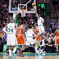 21 December 2012: Boston Celtics power forward Jeff Green (8) goes for the skyhook during the Milwaukee Bucks 99-94 overtime victory over the Boston Celtics at the TD Garden, Boston, Massachusetts, USA.