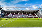 Tyne castle Stadium during the Ladbrokes Scottish Premiership match between Heart of Midlothian and Kilmarnock at Tynecastle Stadium, Gorgie, Scotland on 3 October 2015. Photo by Craig McAllister.