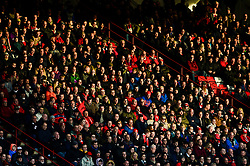 Bristol City fans look on - Mandatory by-line: Dougie Allward/JMP - 10/11/2018 - FOOTBALL - Ashton Gate Stadium - Bristol, England - Bristol City v Preston North End - Sky Bet Championship