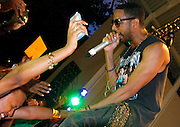 Ryan Leslie performs at Marcus Garvey Park on August 11, 2011 in New York City.