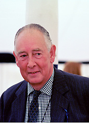 MAJOR BRIAN WRIGHT the Uncle of Sarah, Duchess of York, at a polo match in Berkshire on 26th July 1998.MJG 172