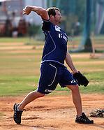 CLT20 - Mumbai Indians Nets Chennai 1st Oct