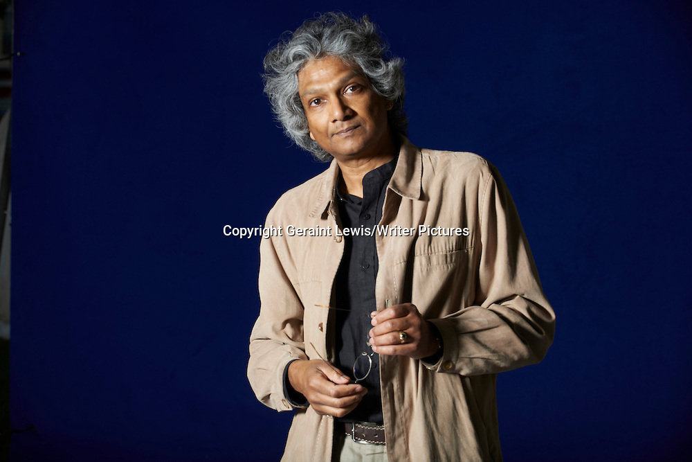Romesh Guneskera, Sri Lankan writer of The Prisoner of Paradise. Pictured at the Edinburgh International Book Festival. Taken 17thAugust 2012<br /> <br /> Credit Geraint Lewis/Writer Pictures