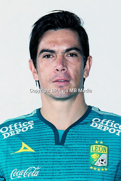 Mexico League - BBVA Bancomer MX 2015-2016 - <br /> Los Panzas Verdes - Club Leon Futbol Club / Mexico - <br /> Juan Ignacio Gonzalez Ibarra