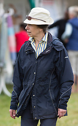 Image ©Licensed to i-Images Picture Agency. 01/08/2014. , United Kingdom. Festival of British Eventing. Gatcombe.  Princess walks around the shops.Picture by i-Images