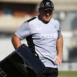DURBAN, SOUTH AFRICA, 19,JULY, 2016 -Lourens Adriaanse during The Cell C Sharks training session at Growthpoint Kings Park in Durban, South Africa. (Photo by Steve Haag)<br /> <br /> images for social media must have consent from Steve Haag