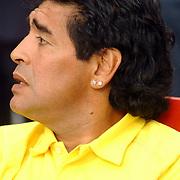 NLD/Amsterdam/20050731 - LG Amsterdam Tournament 2005, Diego Maradona