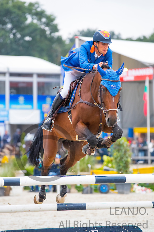 Luka Zaloznik - Belu Ga<br /> FEI World Breeding Jumping Championships for Young Horses 2016<br /> © DigiShots