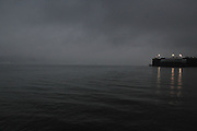 January 11, 2014--New York--The Hudson at 125th Street across from Fairway, hours after an employee there stabbed another to death. 1/11/2014--Photo by Rosa Goldensohn/NYCity Photo Wire