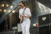 Simon Neil/Biffy Clyro performing at the Rock A Field Festival in Luxembourg, Europe on June 24, 2012