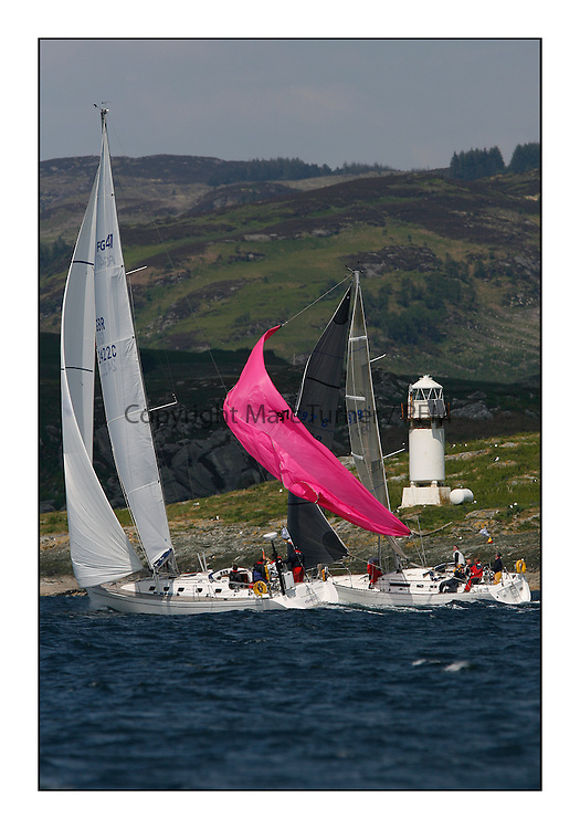 Bell Lawrie Scottish Series 2008. Fine North Easterly winds brought perfect racing conditions in this years event...CYCA Class 9, 2422C, Chillin, John Wilmot, Finngulf 41.CYCA Class 6, 9797C, Piecemaker, Stuart Hamilton, Moody 336