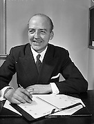 19/02/1958<br /> 02/19/1958<br /> 19 February 1958<br /> Mr. Sean Fitzpatrick, Aer Lingus staff.