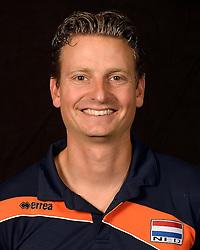 20-07-2014 NED: Selectie Nederlands volleybal team jongens jeugd, Arnhem<br /> Op Papendal werd het Nederlands team volleybal seizoen 2014-2015 gepresenteerd /