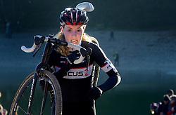 12-01-2014 WIELRENNEN: STANNAH NK CYCLOCROSS: GASSELTE<br /> Annefleur Kalvenhaar<br /> &copy;2014-FotoHoogendoorn.nl
