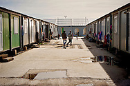 The Temporary accommodation center for immigrants in Eleonas of Athens, 11 Febraury 2016<br /> The reception center in Eleonas of Athens, with a capacity of 720 persons, was opened in August 2015.