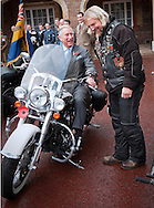 "PRINCE CHARLES.seats a astride on a Harley Davidson motorcycle while chatting  to Dave Hughes Ex Sergeant Major Royal Engineers from the Lakeside Harley Owners Group..The Prince of Wales met ambassadors and collectors at the start of the London Poppy Day Appeal, Clarence House, London_01/11/2012.Mandatory Credit Photo: ©A Harlen/NEWSPIX INTERNATIONAL..**ALL FEES PAYABLE TO: ""NEWSPIX INTERNATIONAL""**..IMMEDIATE CONFIRMATION OF USAGE REQUIRED:.Newspix International, 31 Chinnery Hill, Bishop's Stortford, ENGLAND CM23 3PS.Tel:+441279 324672  ; Fax: +441279656877.Mobile:  07775681153.e-mail: info@newspixinternational.co.uk"
