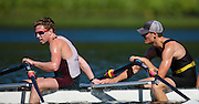 Canadian Under 23 mens quad and mens four train on Elk Lake in Victoria B.C. on Tuesday June 23, 2015.