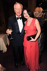 Prince Nikita Lobanov-Rostovsky and     at 'Homage to Nureyev' a tribute to the legendary ballet dancer Rudolf Nureyev performed at the ENO, London COliseum, St.Martin's Lane, London on 21st March 2010.