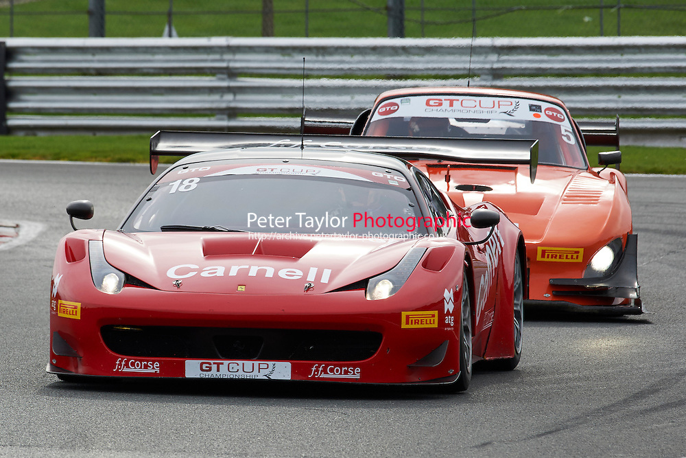 #18 Darren NELSON Ferrari 458 GT3 ncpr\