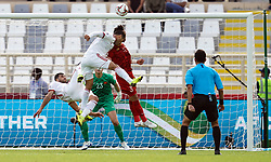 January 12, 2019 - Abu Dhabi, Abu Dhabi, United Arab Emirates - Vahid Amiri of Iran and Saman Ghoddos of Iran  during Vietnam v Iran, AFC Asian Cup football, Nahyan Stadium, Abu Dhabi, United Arab Emirates on January 12, 2019  (Credit Image: © Ulrik Pedersen/NurPhoto via ZUMA Press)