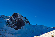 Pic d'Espade, Col de Tourmalet.  Mountain Landscapes, La Mongie ski resort,  Bagnères-de-Bigorre, France.