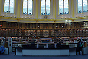 The British Museum library Reading Room in London.