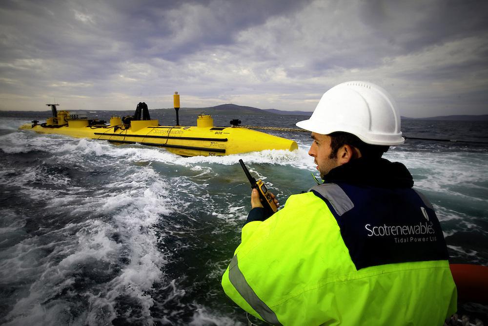 Tidal Power Machine - Orkney - for Greenpeace International