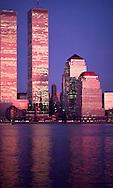 Sunset, World Trade Center, New York, NY