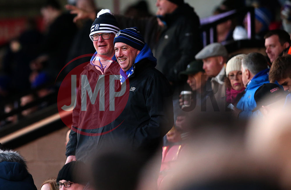 Bristol Rovers fans at Walsall - Mandatory by-line: Robbie Stephenson/JMP - 26/12/2017 - FOOTBALL - Banks's Stadium - Walsall, England - Walsall v Bristol Rovers - Sky Bet League One