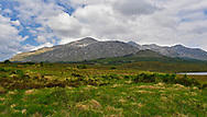 Connemara along R344 in Co. Galway, Ireland.
