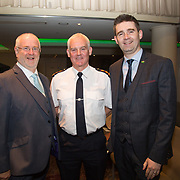 10.10. 2017.          <br /> Pictured at the Limerick Going for Gold 2017 finals in the Strand Hotel were, Roger Beck, Parkway Shopping Centre, Chief Supt. David Sheahan and Joe Cleary, Mr. Binman.<br /> <br /> <br /> Limerick Going for Gold, which is sponsored by the JP McManus Charitable Foundation, has a total prize pool of over €75,000.  It is organised by Limerick City and County Council and supported by Limerick's Live 95FM, The Limerick Leader and The Limerick Chronicle, The Limerick Post, Parkway Shopping Centre, I Love Limerick and Southern Marketing Media & Design. Picture: Alan Place