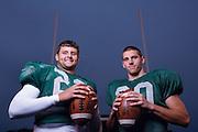 17153Football Portraits: football team siblings -- Spencer and Dustin Tatum --