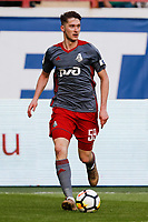 MOSCOW, RUSSIA - MAY 05: Aleksei Miranchuk of FC Lokomotiv Moscow in action during the Russian Football League match between FC Lokomotiv Moscow and FC Zenit Saint Petersburg at RZD Arena on May 5, 2018 in Moscow, Russia.