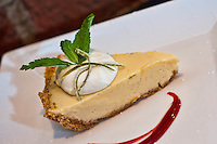 """Island Style"" key lime made with ""Nellie & Joe's"" key lime juice and graham cracker crust."