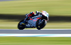 October 26, 2018 - Melbourne, Victoria, Australia - German rider Marcel Schrotter (#23) of Dynavolt Intact GP in action during day 2 of the 2018 Australian MotoGP held at Phillip Island, Australia. (Credit Image: © Theo Karanikos/ZUMA Wire)